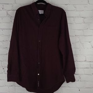 Five Four Los Angeles Burgundy Long Sleeve Shirt